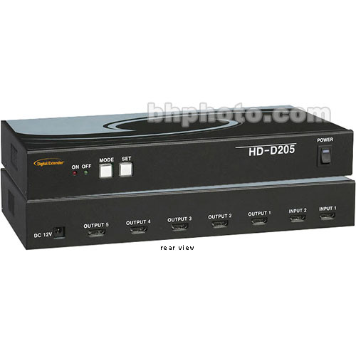 RTcom USA HD-D205 HDMI Distributor