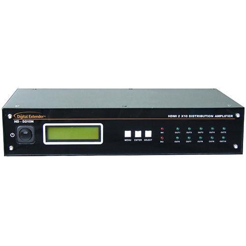 RTcom USA HD-D210N HDMI Distributor 2x10 v1.3