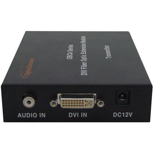 RTcom USA OBCA-BOX DVI with Audio Fiber-Optic Extension