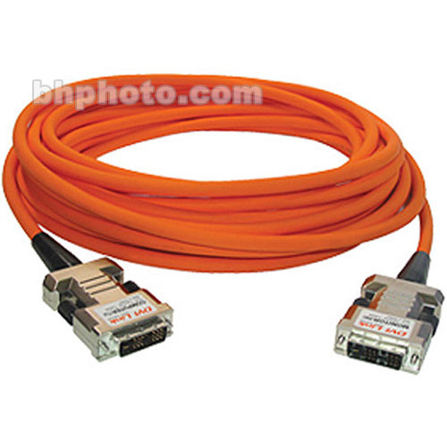 RTcom USA DVIOC010 Fiber Optic DVI-D Cable (10 m)