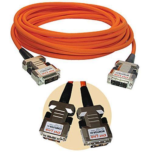 RTcom USA DVIOC100 Fiber Optic DVI-D Cable (100 m)