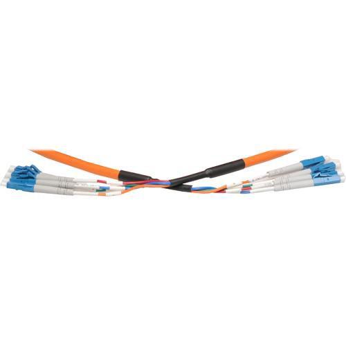 RTcom USA Pre-Terminated LC Multi-Mode Fiber-Optic Cable - 131' (40 m)