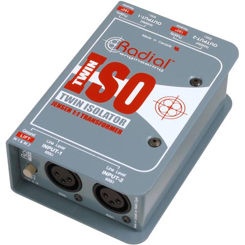 Radial Engineering Twin-Iso Balanced Line Isolator
