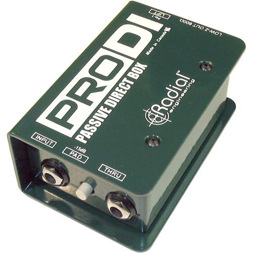 Radial Engineering ProDI Direct Box