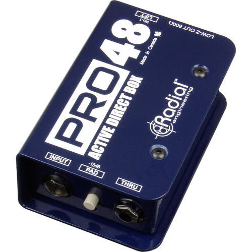 Radial Engineering Pro48 Active Direct Box