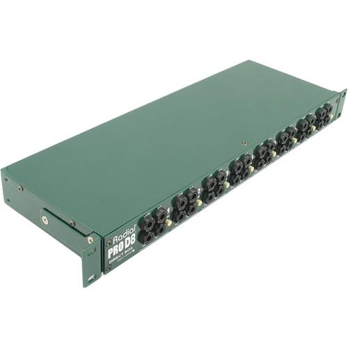 Radial Engineering ProD8 Rackmount Direct Box