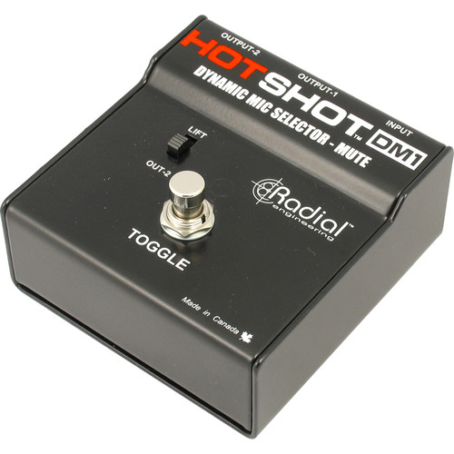 Radial Engineering Hotshot DM1 Mic Switcher