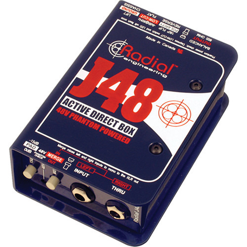 Radial Engineering J48 Active Direct Box