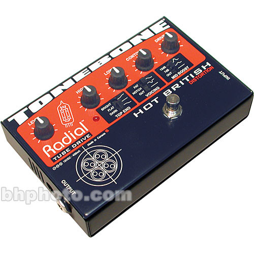 Radial Engineering Tonebone Hot British Distortion Pedal