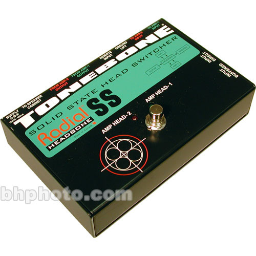 Radial Engineering Headbone SS Guitar Amp Head Switcher