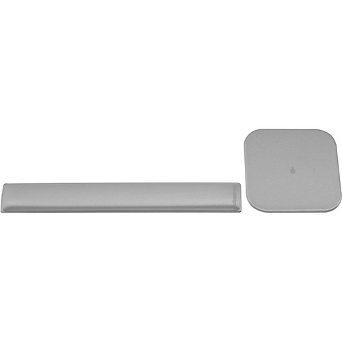 Rain Design mRest Gel Wrist Rest and Mouse Pad (Silver)