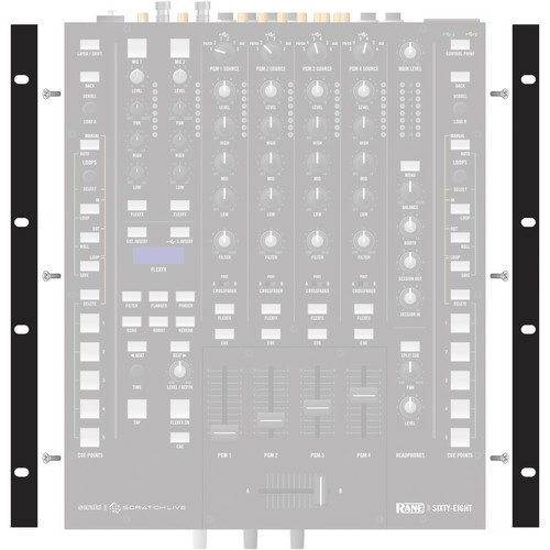 Rane Rack Ears for Sixty-Eight Mixer