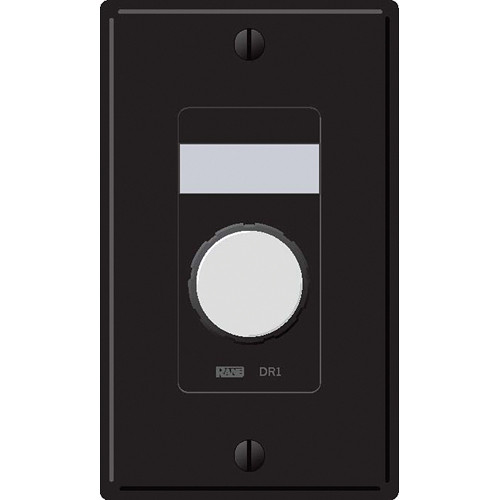 Rane DR1 Zone Output Volume Remote Control (Black)