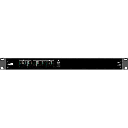 Rane MA4 4-Channel, 4 x 100W Amplifier