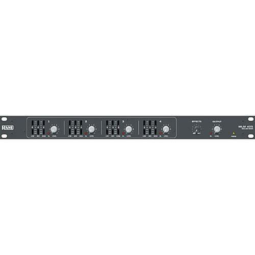 Rane MLM42S - Four Channel Mixer