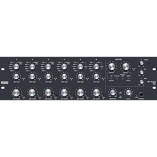 Rane MP2016S Rotary Knob Professional DJ Mixer