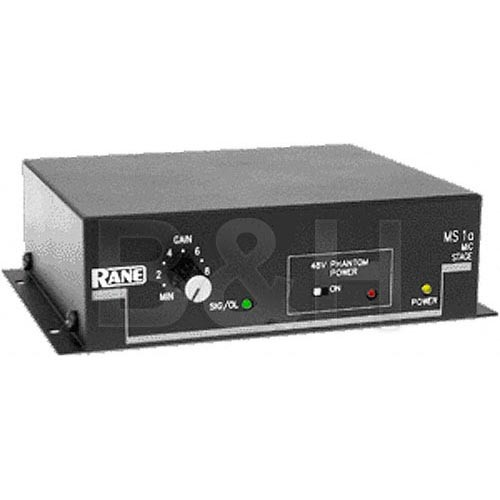 Rane MS1B - Single Channel Microphone Preamp