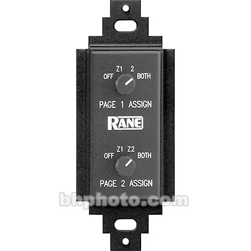 Rane PR-2 - Page Assign Control for CP-64 and CP-52