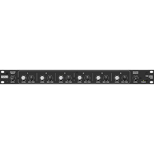 Rane SM26S Six-Channel Rackmountable Splitter/Mixer