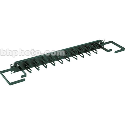 Raxxess Cable Management Panel, Model CMP-1M (Black Powder Coat)