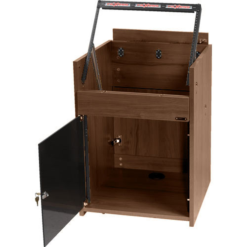 Raxxess Small Elite Converta-Rack, Model RAECR1010WT  (Walnut )