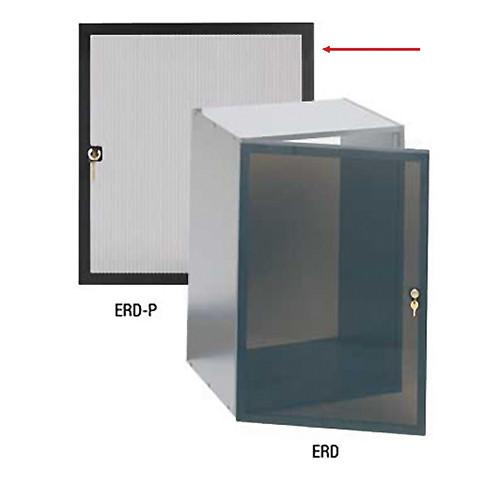 Raxxess ERD Economy Perforated 8-Space Rack Door (Black)