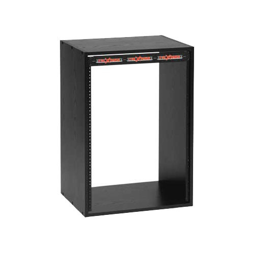 Raxxess ER-14 Space Economy Rack (Black Oak)