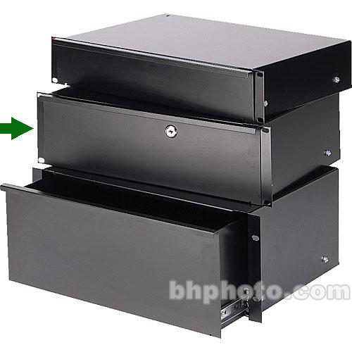 Raxxess Sliding Rack Drawer, 3-Spaces
