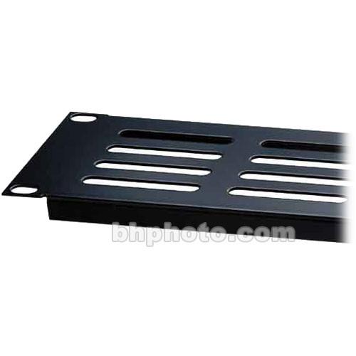 Raxxess Economy Steel Vent Panel, Model EVP3 with 3 Spaces (Black)