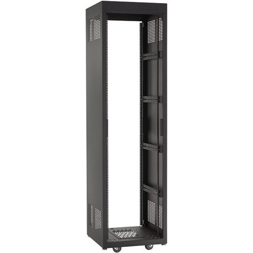 "Raxxess NE1F2028 Free-Standing E1 Enclosed Rack (20 U Tall, 28"" Deep)"