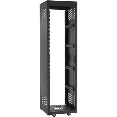"Raxxess NE1F3628 Free-Standing E1 Enclosed Rack (36 U Tall, 28"" Deep)"