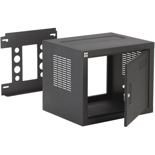 "Raxxess W2 On-Wall Rack (8U, 18"" DEEP)"