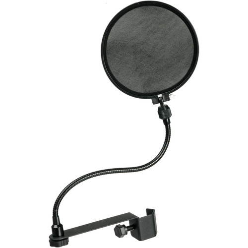 Raxxess Pop Filter with Goose Neck - 6""
