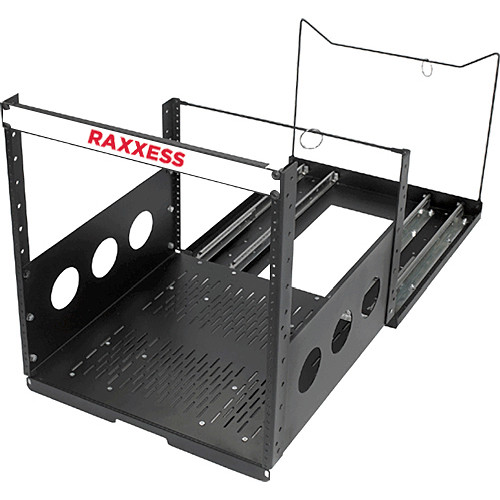Raxxess POTR-12 Pull Out 12-Space Rack