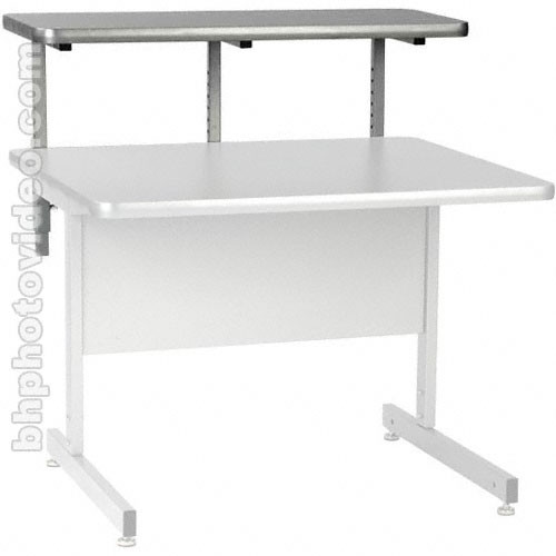 "Raxxess 36""W Upper Shelf for Center Desks (Ebony)"