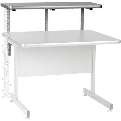 "Raxxess 36""W Upper Shelf for Center Desks (Ebony)"