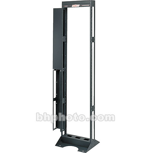 Raxxess Relay Floor-Mount Rack, Model RFM-24 (Black Powder Coat)