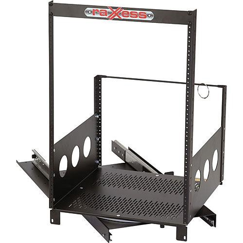 Raxxess ROTR Roto Rack System - 10 Space Rotating Installed Equipment Rack