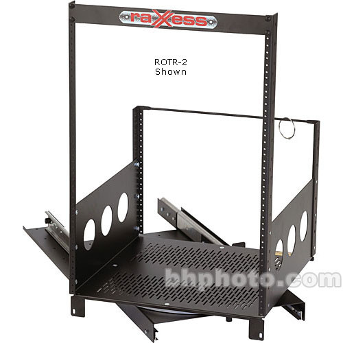 Raxxess Rotating Rack System, Model ROTR-XL14, 14 Spaces