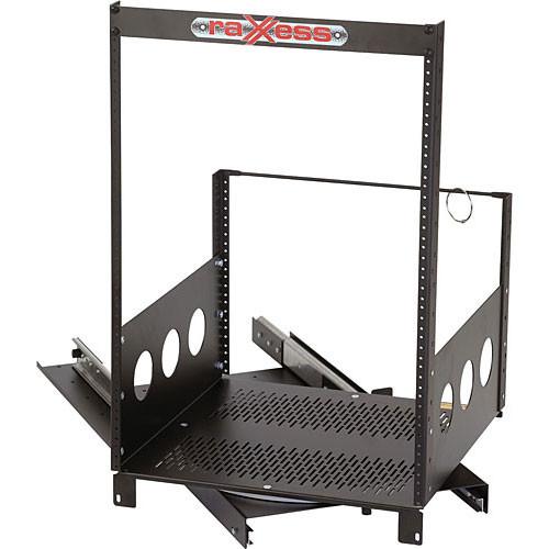 Raxxess Rotating Rack, Model ROTR-XL 20-Spaces (2 Sliders)