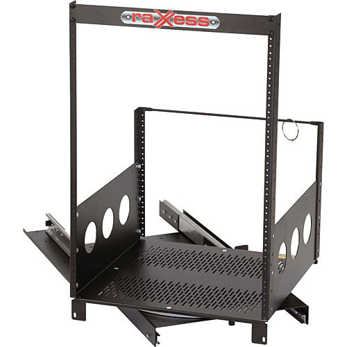 Raxxess Rotating Rack, Model ROTR-XL 21-Spaces (2 Sliders)