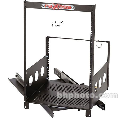 Raxxess Rotating Rack System, Model ROTR-XL9, 9 Spaces