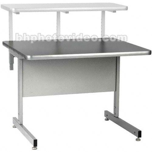 Raxxess Straight Center Desk Large (Ebony)