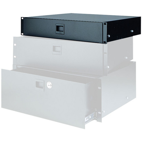 Raxxess Locking Heavy-Duty Rack Drawer (2U)