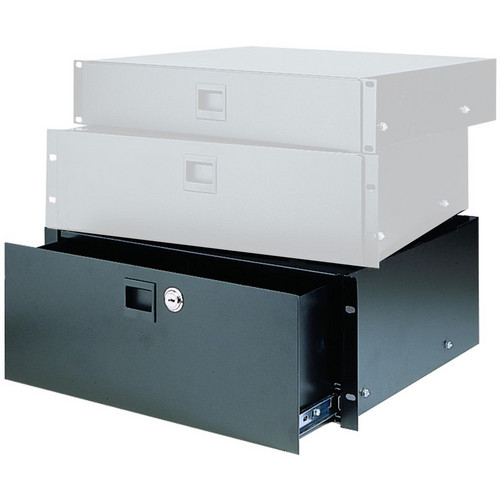 Raxxess 4U Locking Heavy-Duty Rack Drawer