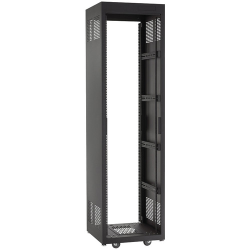 "Raxxess E1 Enclosed Audio Furniture Rack Package (28U, 23"" Deep)"
