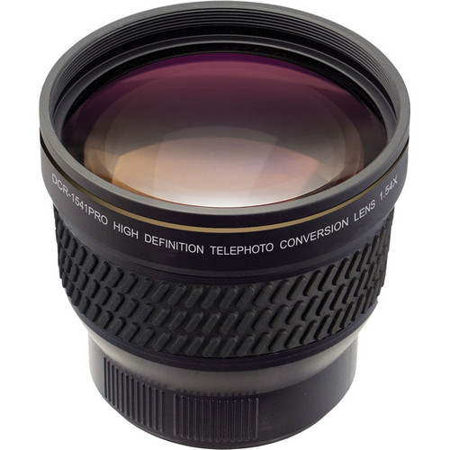 Raynox DCR-1541PRO High Definition Telephoto Conversion Lens (1.54x)