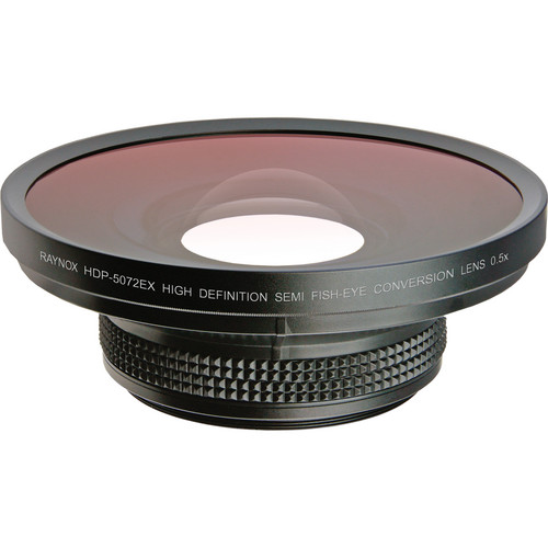 Raynox HDP-5072EX HD Semi-Fisheye Conversion Lens (0.5x)