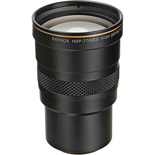 Raynox HDP-7700ES 37mm High Definition 3.0x Super Telephoto Conversion Lens for HDV Camcorders