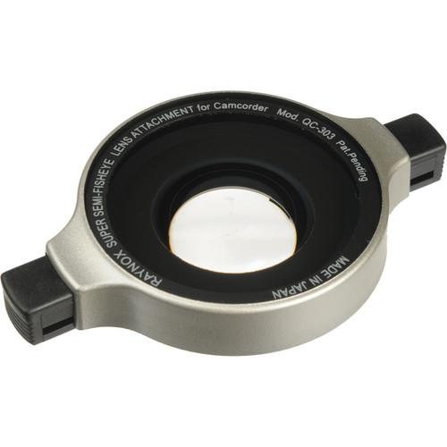 Raynox QC-303 0.3x Semi Fisheye Snap-On Lens